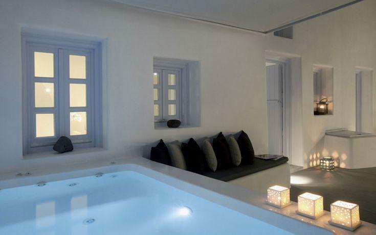 21 besten ferienvillen auf santorini bilder auf pinterest for Design hotels mittelmeer