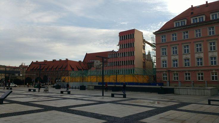 Wrocław plac Nowy Targ , koniec pewnej epoki
