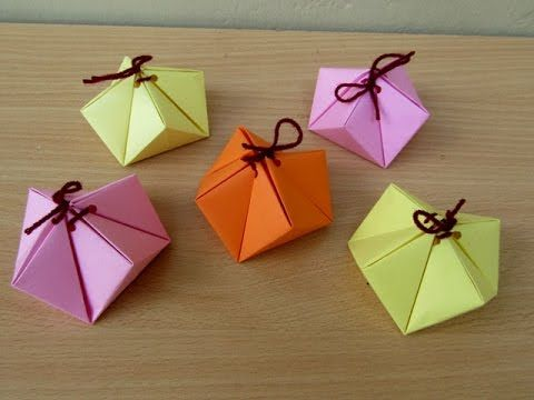 How to Make a Paper Special Gift Box - Easy Tutorials - YouTube