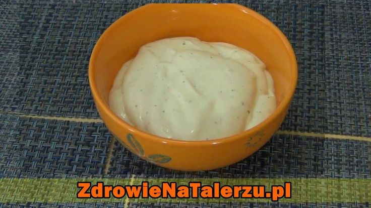 Majonez z ziemniaków (wegański) bez cholesterolu