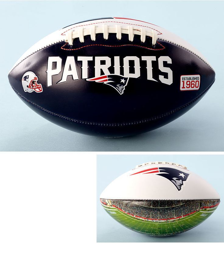 Official NFL Patriots Team Football With Panoramic Stadium View Gift Collectible #OfficialNFL #NewEnglandPatriots