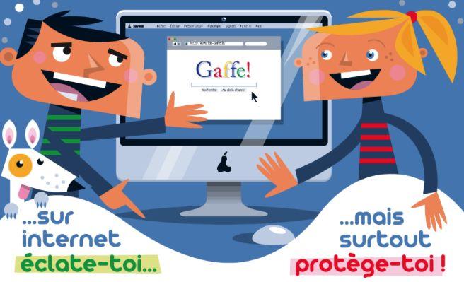 """""""Fais gaffe"""" : un site pour avertir les enfants et…"""