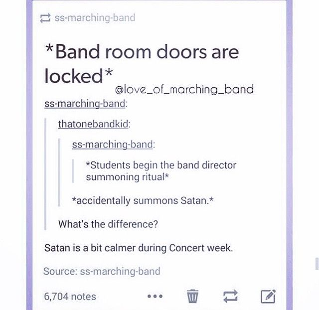 *satan sits to watch the concert* *after concert* satan: you guys were actually pretty good. Keep up the good work.