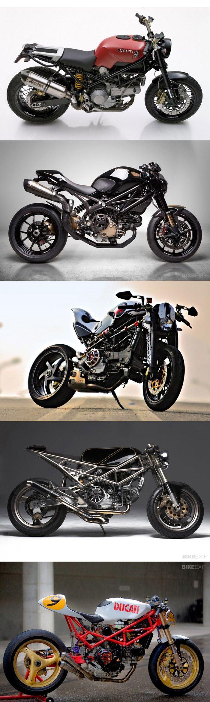 BIKE-EXIF :: top 5 Ducati Monster Customs   http://www.bikeexif.com/top-5-ducati-monsters