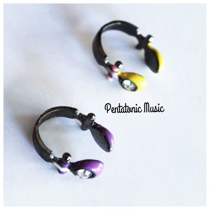 Cute Headphone Ring Follow Instagram : pentatonicmusic