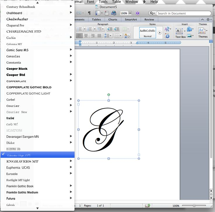 For MS Word: DIY How to make a monogram using the computer with step by step pictures...