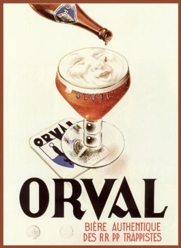 1931 ORVAL - Villes-devant-Orval Beer Ad
