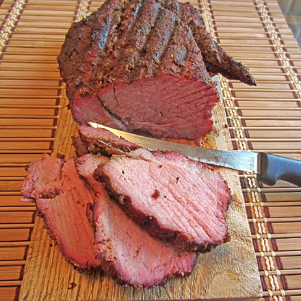 I saw beef tenderloin on sale for a great price and just had to pick one up. I cut off half of it to slow smoke it with mesquite wood and  a heavy rub for some tender and juicy sliced tenderloin. T…
