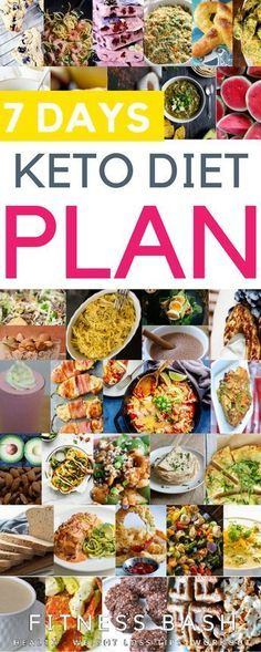 7 day keto meal plan: The low carb easy keto diet for beginners. Check out the s...