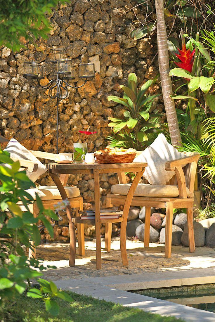 Villa 15 table at Villa Kubu, Seminyak, Bali