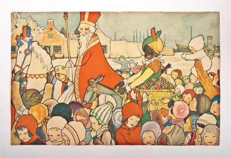 Sinterklaas, by Rie Cramer