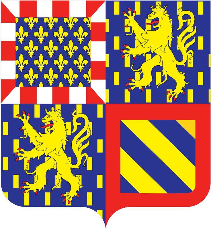 Le nouveau blason de la nouvelle région Bourgogne Franche Comté.