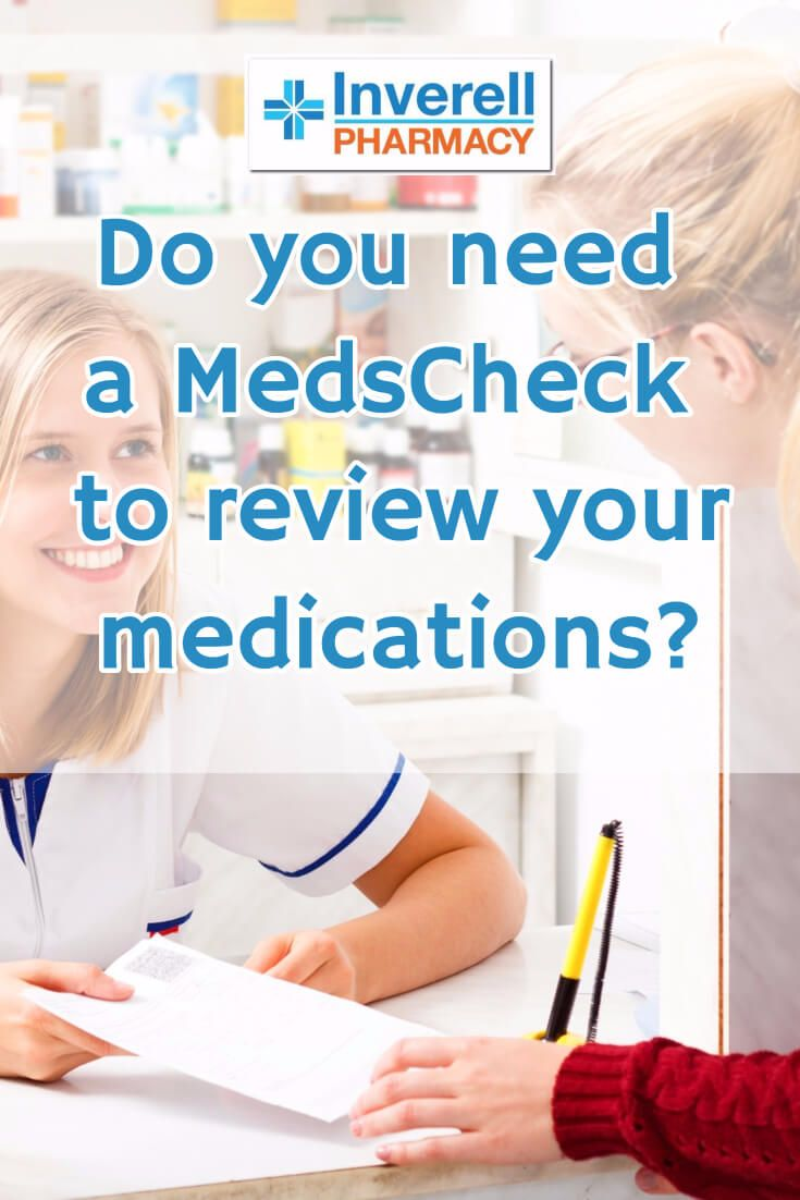 Do you take multiple medications or want to manage your treatment more effectively? A MedsCheck could help you to optimize your medications so that you can avoid potential problems.