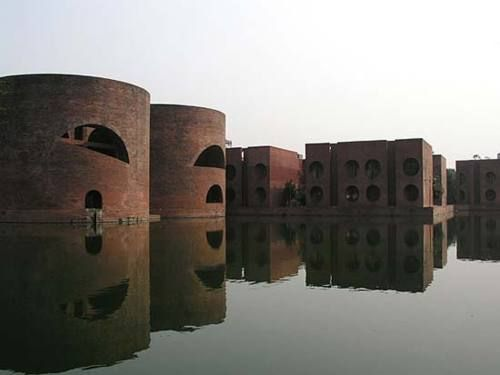 National Assembly Building, Bangladesh. Made by my favorite architect, and the best I'm my opinion- Louis Kahn