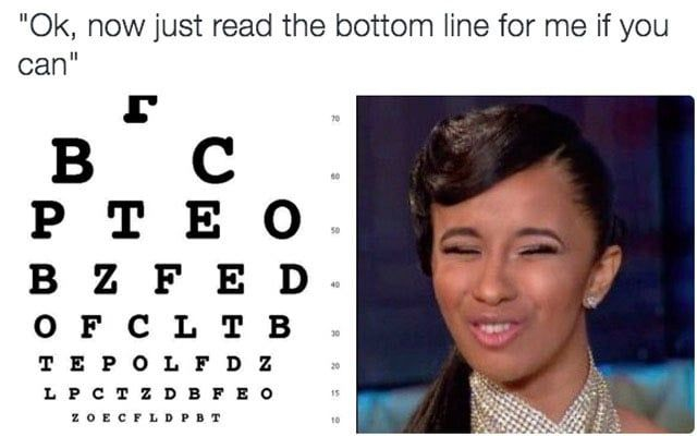 Funny Face Reactions Meme : These cardi b face reaction memes will have you in tears