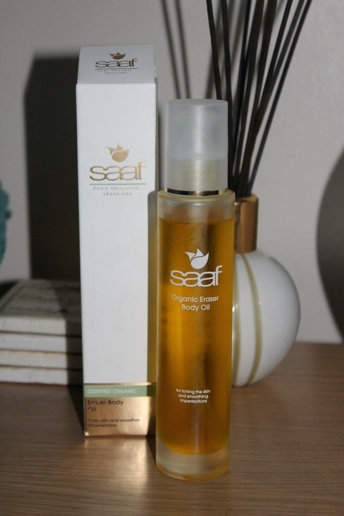 Saaf Skincare Eraser Body Oil - http://amummysview.com/2013/06/14/saaf-skincare-eraser-body-oil-review/
