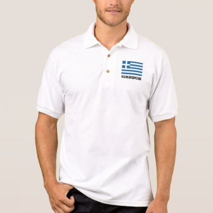 #women - #Greek flag custom polo shirts for men and women