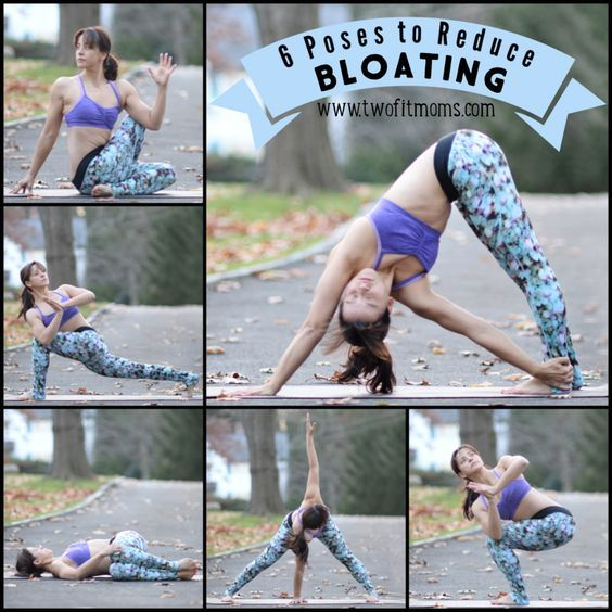 Bloating can be uncomfortable to deal with, when bloating strikes, try these 6 yoga poses that are proven to reduce bloating // skinnymetea.com.au