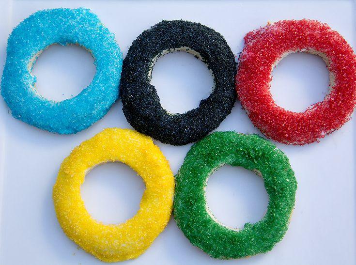 Olympic Cookies | Moonfrye