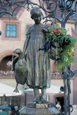 Göttingen_10: The Goose Girl - Göttingen landmark