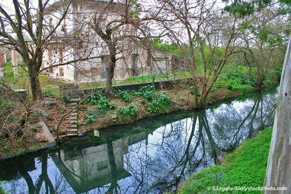 Fluss Ciane bei Syrakus