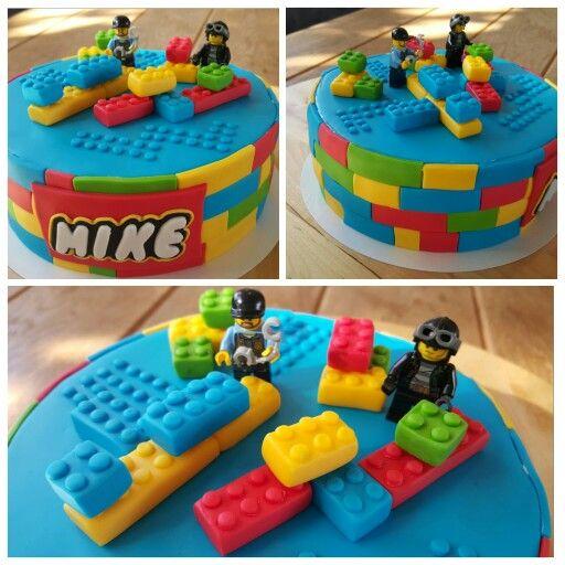 17 beste idee n over lego city taarten op pinterest lego for Decorazioni torte ninjago