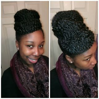 Rainy day hairstyles for natural hair. ClassyCurlies.com