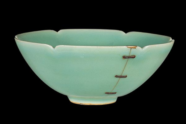 Celadon glazed tea bowl, 13th century