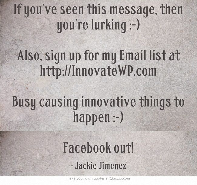 Lurking On Facebook My Quotes. QuotesGram