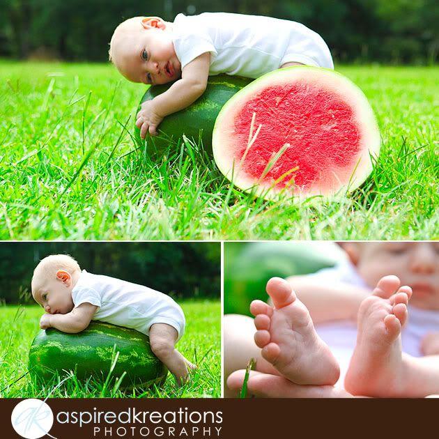 watermelon photo shoot