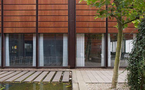 Syddansk Universitet (University of Southern Denmark) by Danish architect Jørgen Vesterholt & Knud Holscher, Odense, Denmark, 1968-76