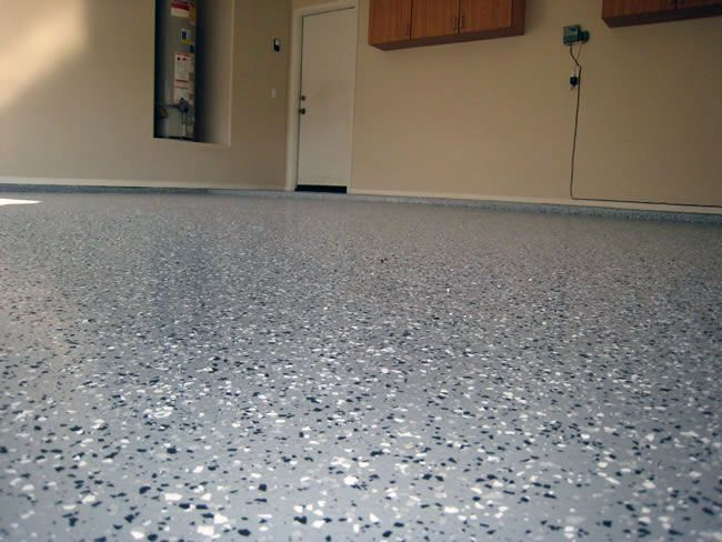 Garage Floor Painting And Epoxy Coating In Kansas