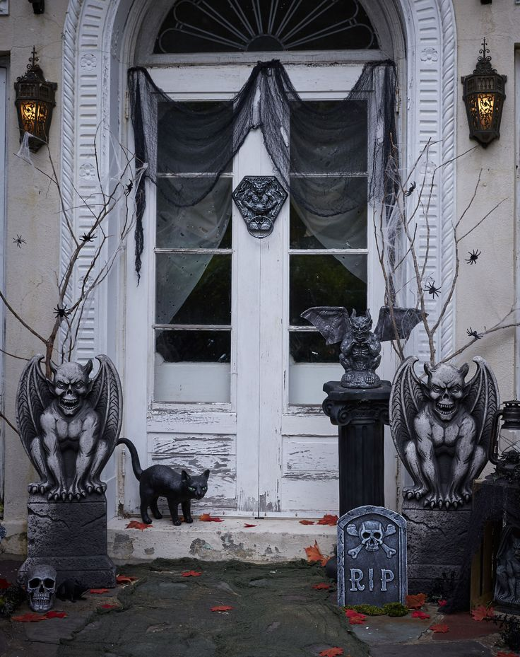 Ward Off Evil Spirits With These Gargoyles Guarding Your