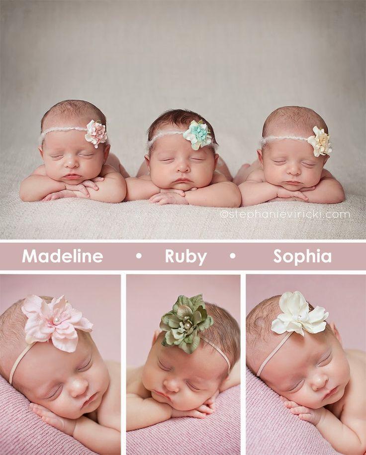 Louisville Newborn Photographer | Stephanie Viricki Photography: Triplets: 7 weeks | Louisville, KY Newborn Photography