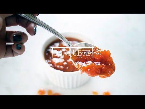 Geleia de damasco com maracujá (pode ser pêssego ou nectarina também)