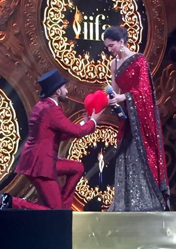 deepika with ranveer
