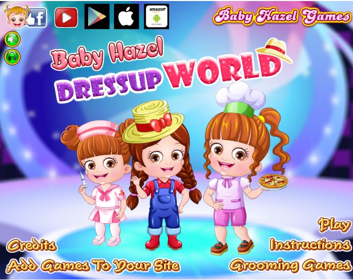 Enjoy giving different makeovers to Baby Hazel by dressing her up in fashionable outfits and accessories http://www.babyhazelgames.com/games/baby-hazel-dressup-world.html