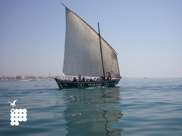 barco tradicional português - Póvoa de Varzim