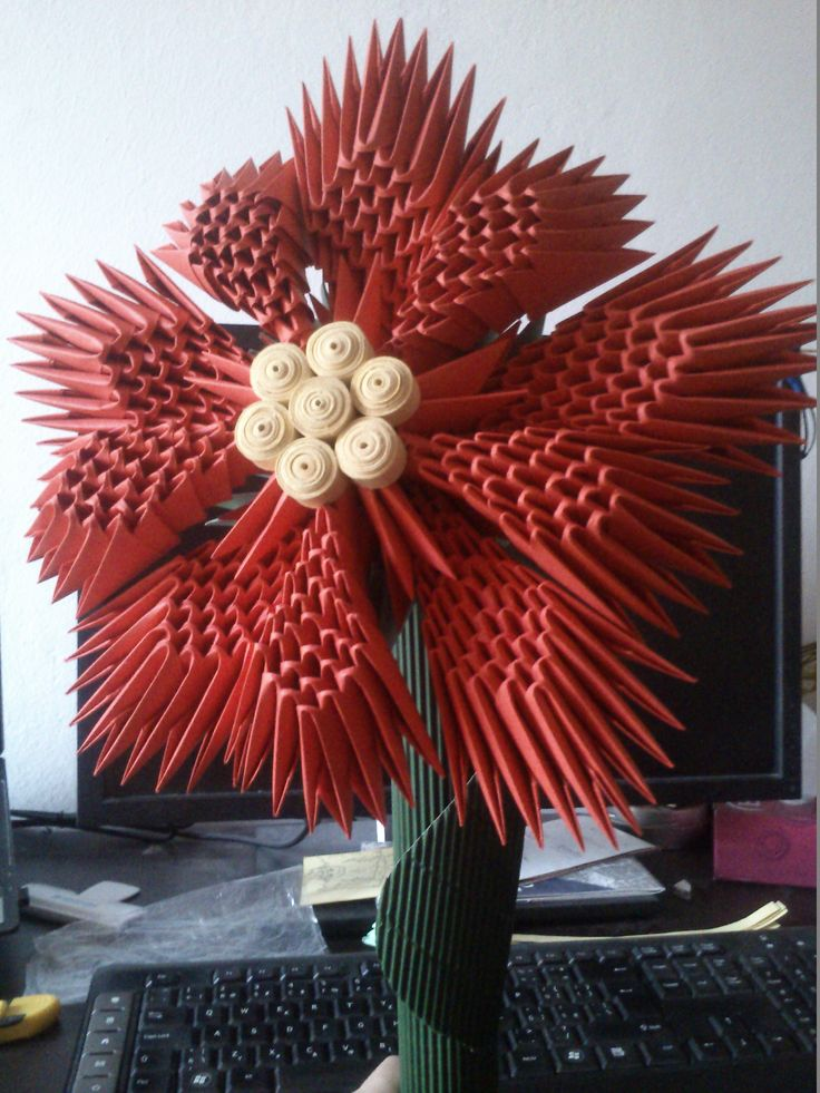 wonderful 3D origami for one wonderful young lady