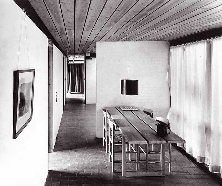 1957 Friis & Moltke - Projects - Moltkes hus, Hamphøjvej #Danmark