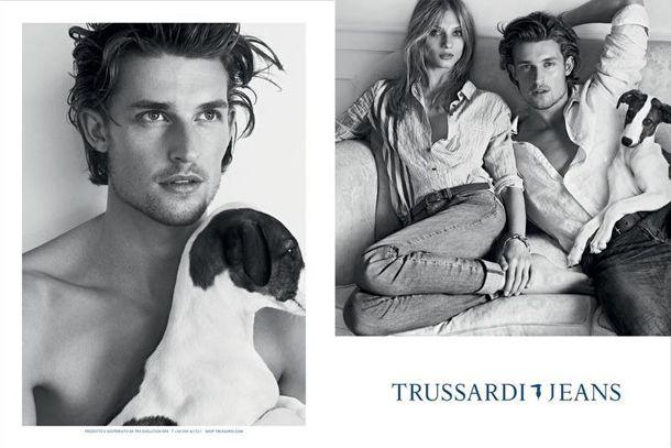 Trussardi Jeans shirts. New collection! http://www.kamiceria.com/brands/shirts-trussardi.html