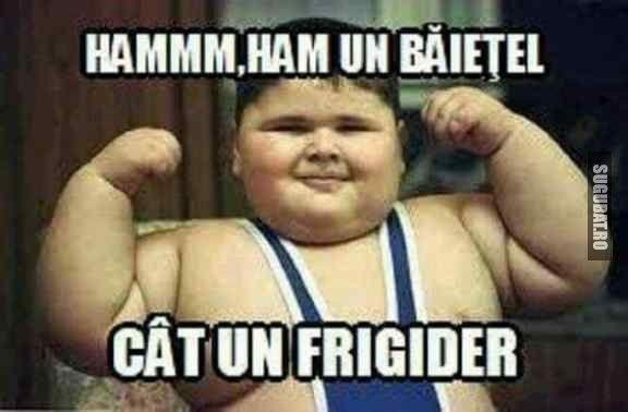 Ham un baietel cat un frigider... ca ,, lada frigorifica ,, nu rima :)) ~ Emmi Hell&Back ~