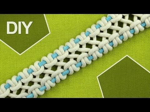 M DIY / crossed sennit, chain - FOUR strands
