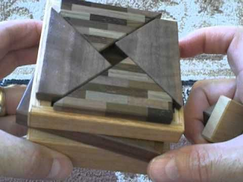 Secret Base Japanese Puzzle Box by Hiroshi Iwahara - YouTube