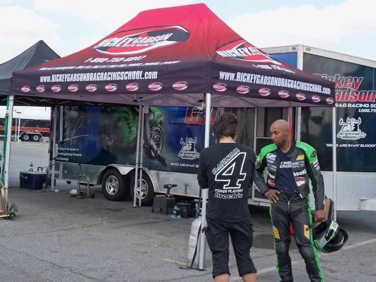 Portable Race Awnings : Best motorcycle racing travel images on pinterest