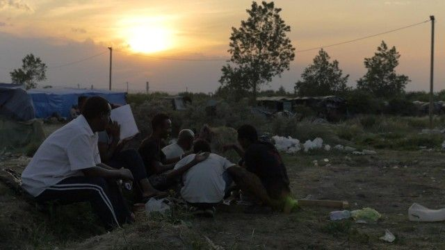 Calais migrants: life in the Jungle – video
