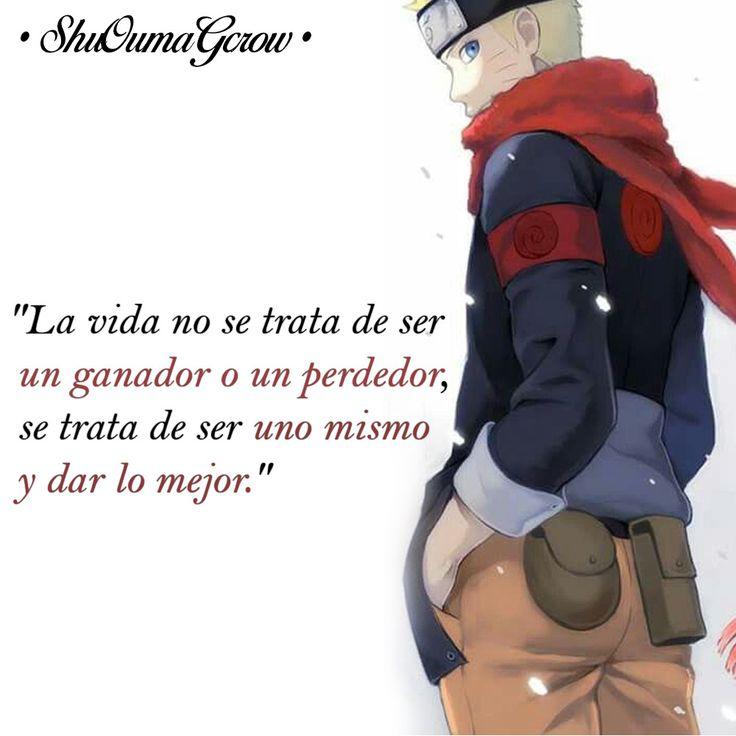 La vida no se trata. #ShuOumaGcrow #Anime #Frases_anime #frases