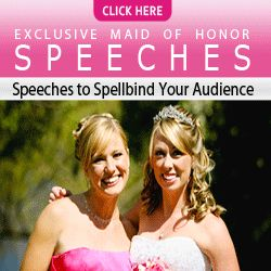 by Belinda Hamilton, who is a professional author of several wedding speech books