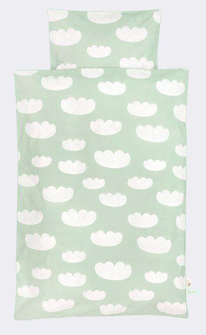 Sognare via in questi fogli con le nuvole da Ferm Living. Realizzata in 100% cotone biologico, perché solo il meglio è abbastanza buono! Il coperchio si chiud
