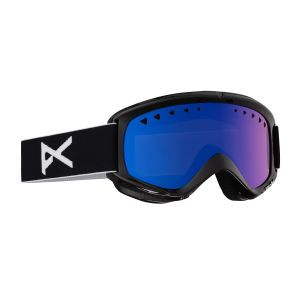 Getting ready to hit the shred? Anon Helix Goggles, Black - Blue Solex   Free UK Delivery